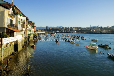 high angle view of boats spain