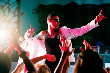 rap oder hip hop musiker