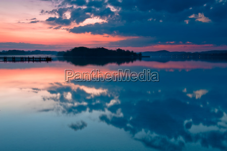waters sunrise bavaria wet in the