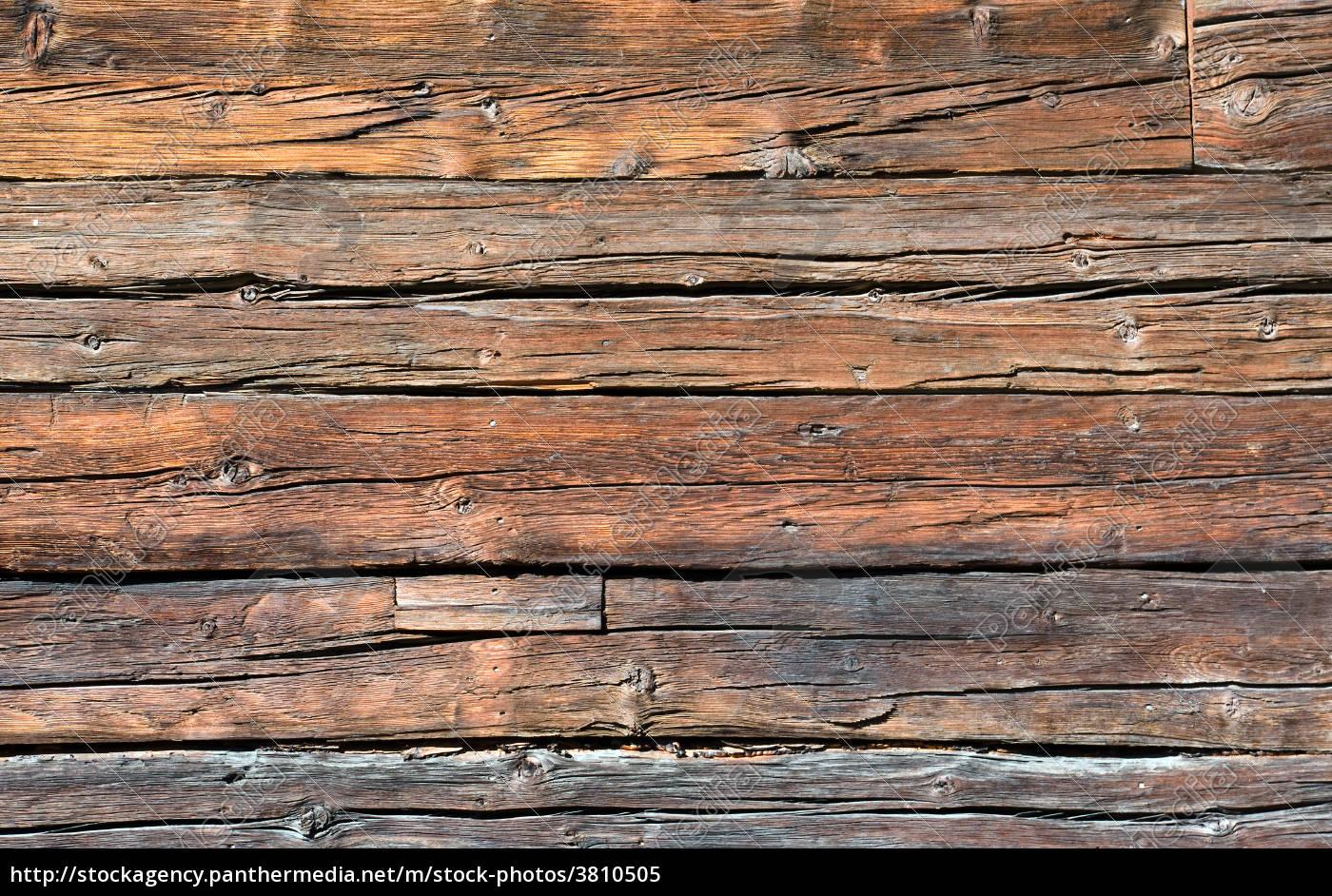 Alte Holzwand Lizenzfreies Bild 3810505 Bildagentur Panthermedia