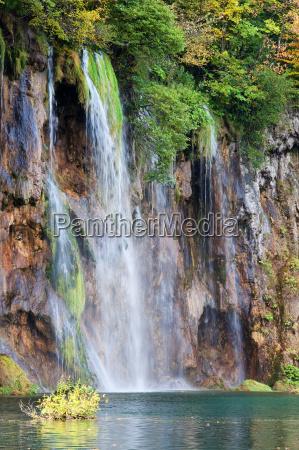wasserfall kroatien landschaftsbild landschaft natur kaskade