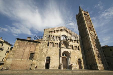 kathedrale von parma in italien
