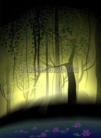 gemaelde malerei zierlich landschaftsbild landschaft natur