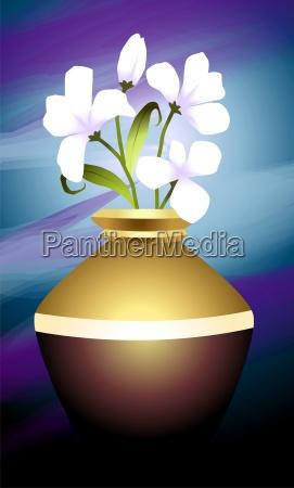blume pflanze gemaelde malerei kreativitaet ausmalen