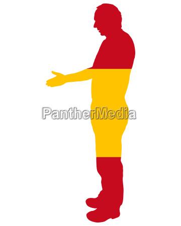 spanischer handschlag