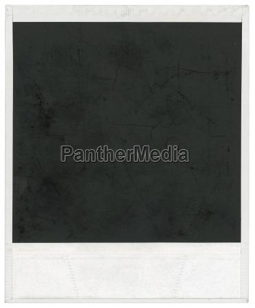 leere polaroid rahmen ausschnitt