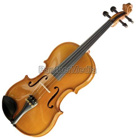 violin ausschnitt mit beschneidungspfad