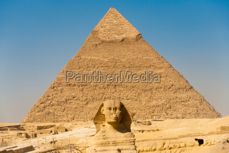 sphinx pyramiden von gizeh chephren center