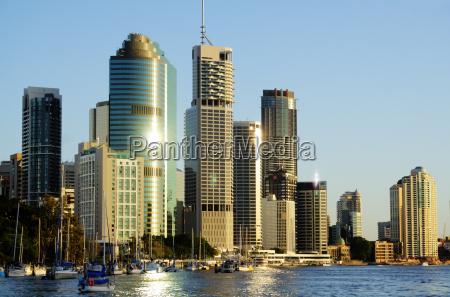 brisbane city australien