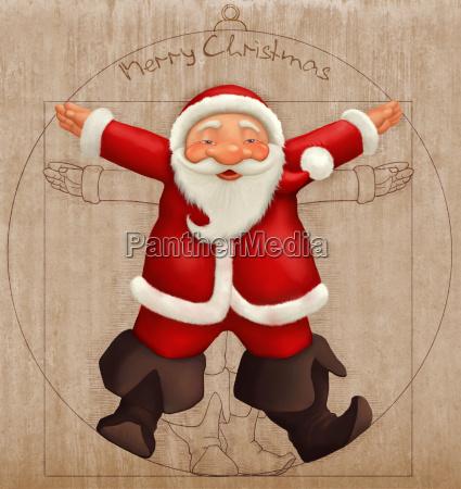vitruvian weihnachtsmann
