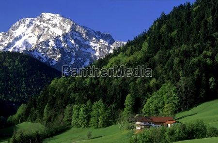 montagne vacanza vacanze alpi baviera primavera