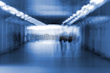 tunnel in blur