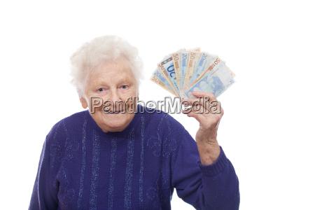 oma mit euros