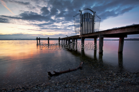 ammersee in january