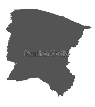 map of brazil ceara