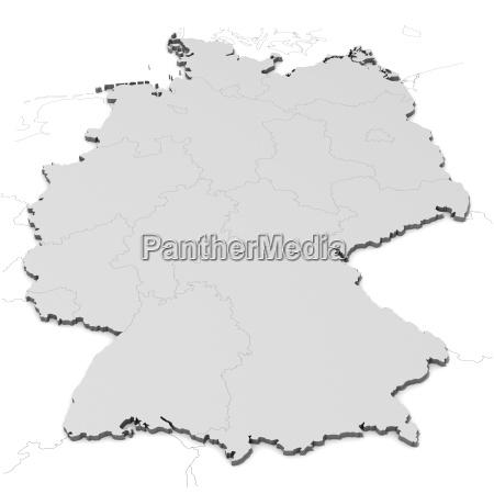 deutschlandkarte - 4048585