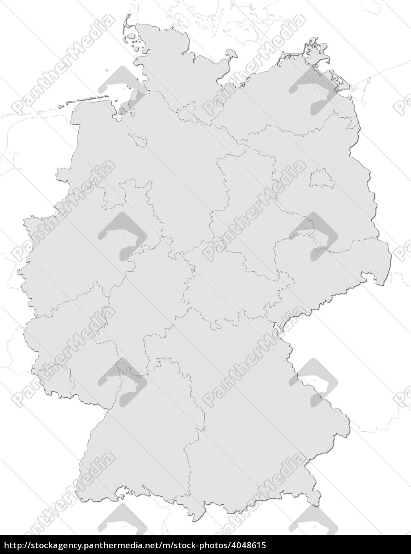 deutschlandkarte - 4048615