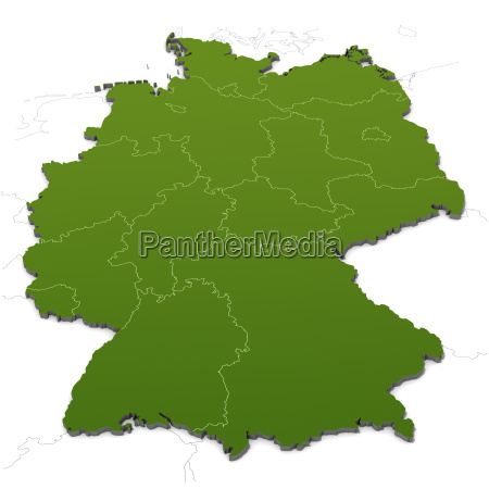 deutschlandkarte - 4048617