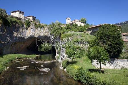 puentedey burgos kastilien y leon spanien