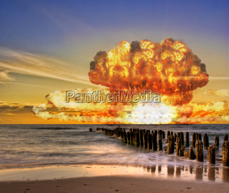 atombombentest im ozean