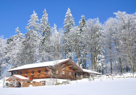 winter idyll in lamer angle at