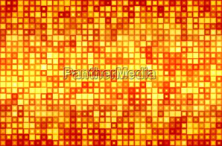 fire dot matrix background 03