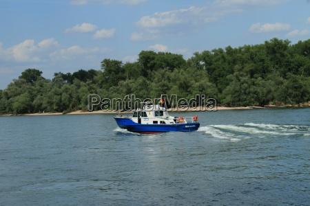 polizei boot
