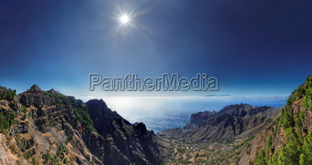 valley of taguluche on la gomera