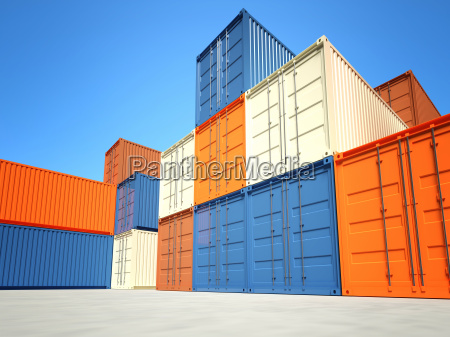 industrial container 3d fine background