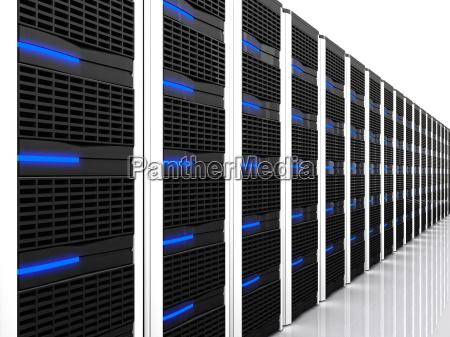 3d computer server datacentre