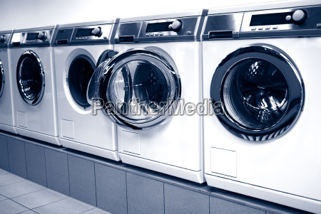 washing machines in arow in a