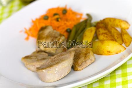 medaillons vom schwein bratkartoffeln