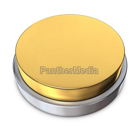 silber runden knopf mit metallic ring