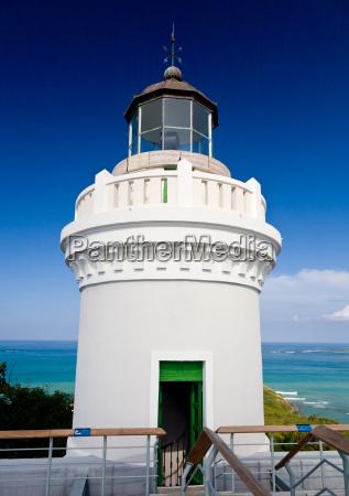 leuchtturm auf puerto rico nordkueste