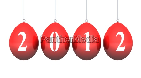 red easter eggs hanging released 03