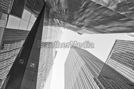 riesige wolkenkratzer new york city