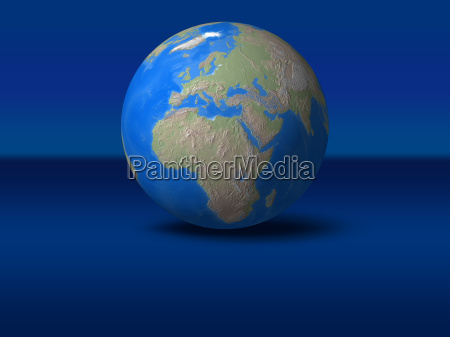 space afrika europa weltraum globus planet
