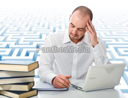 stress at study