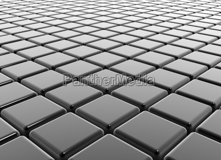 dark cubes reflective business background