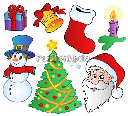 verschiedene weihnachtsbilder