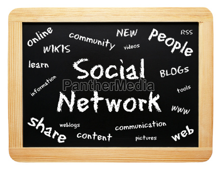 social network business concept