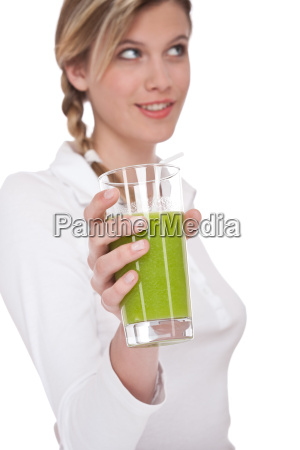healthy lifestyle series glass of