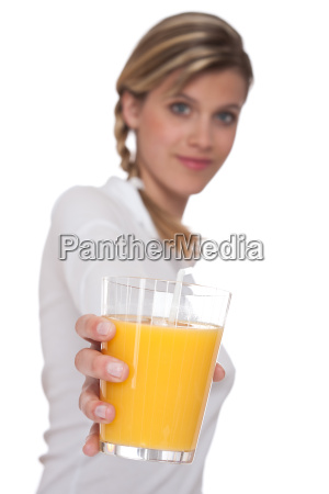 healthy lifestyle series woman holding