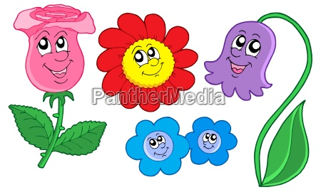 cute flowers collection