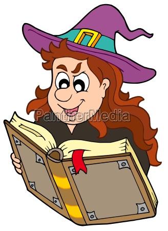 zaubermaedchen lesen magisches buch