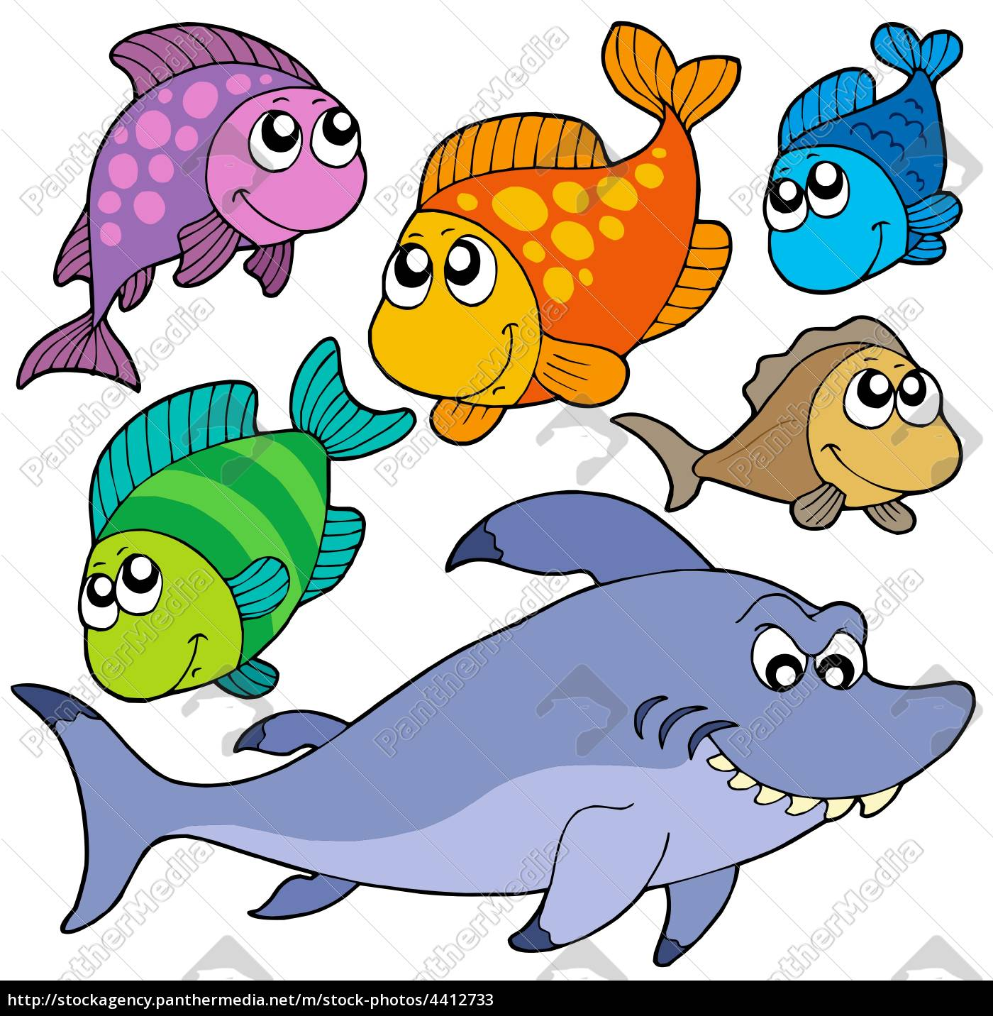 Fische Cartoon