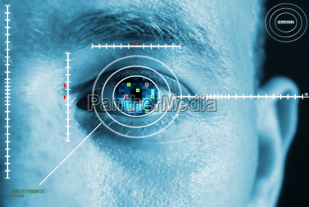 iris scan sicherheit