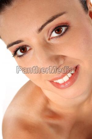 laughing portrait