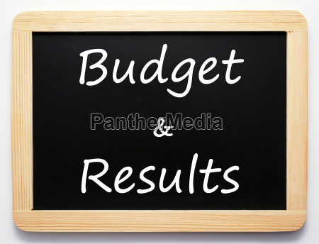 budget amp results performance
