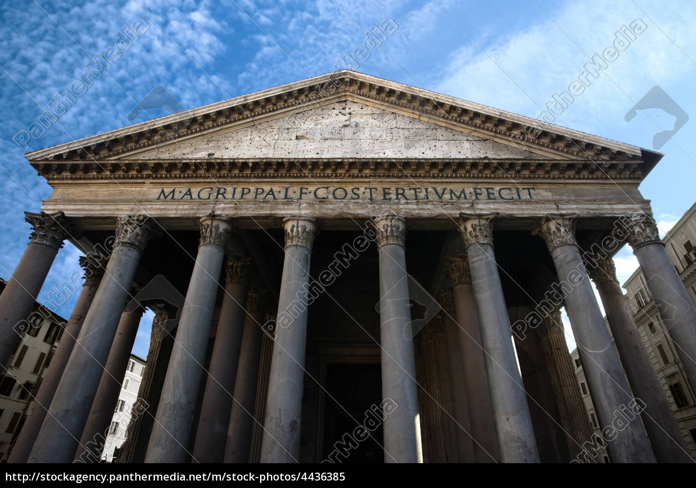 pantheon, in, rom - 4436385
